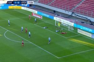 Super League: Στο ρελαντί ο Ολυμπιακός - Επικράτησε 2-0 του Απόλλωνα Σμύρνης (Video)