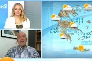 «Επερχόμενη θερμή εισβολή...» - Προειδοποίηση του Τάσου Αρνιακού (Video)