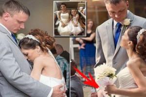 Όλοι νόμισαν ότι είναι ένας συνηθισμένος γάμος - Όταν όμως πρόσεξαν τη νύφη... (photo)