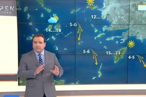 «Καταφτάνει ο Αζορικός αντικυκλώνας» - Έκτακτη προειδοποίηση Κλέαρχου Μαρουσάκη