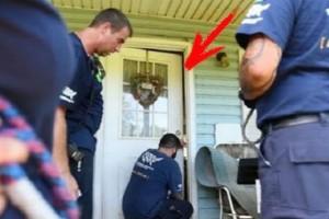 Άκουγαν ανατριχιαστικούς ήχους πίσω από αυτή την πόρτα - Όταν μπήκαν μέσα... (Video)