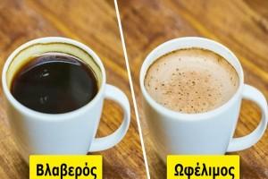 7+1 ευεργετικά οφέλη που έχει η κατανάλωση καφέ για την υγεία μας. - Για το 4ο δεν είχαμε ιδέα!