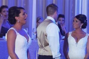 Γαμπρός λέει στη νύφη «πλέον είμαστε μια τριμελής οικογένεια»! Mόλις αυτή γυρίζει το κεφάλι της... (Video)