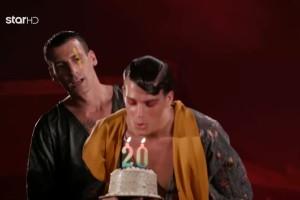 GNTM 3: Πανέμορφη έκπληξη σε παίκτη - Η τούρτα και η συγκίνηση