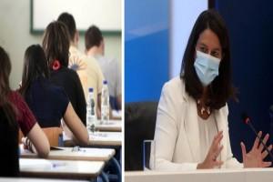 Πανελλαδικές εξετάσεις και σχολεία: «Βόμβες» της Νίκης Κεραμέως