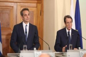 Τηλεφωνική επικοινωνία Μητσοτάκη - Αναστασιάδη με φόντο Κυπριακό και ελληνοτουρκικά