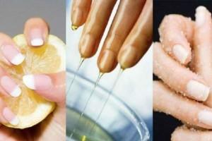 24χρονη ανακατεύει λεμόνι με ελαιόλαδο και το βάζει στα νύχια της - Μετά από 10 λεπτά...