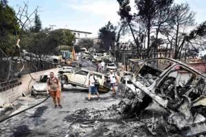 Φωτιά στο Μάτι: Η Β. Φύτρου ζητά από τον ανακριτή να αποδοθούν κακουργηματικές κατηγορίες