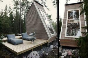 Με κόστος περίπου 7.500 ευρώ! Έχτισε σπίτι τόσο μικρό που δεν χρειάζεται καν άδεια! (photos)