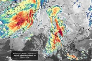 Έκτακτο δελτίο επιδείνωσης καιρού: Έρχονται καταιγίδες και χαλάζi - Πού θα «χτυπήσουν» τα φαινόμενα