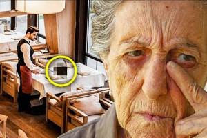 88χρονη γιαγιά φεύγει από το εστιατόριο χωρίς να πληρώσει - Τότε ο σερβιτόρος ανακαλύπτει...