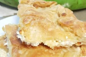 Κρατσανιστή τυρόπιτα - Το μυστικό βρίσκεται στη σόδα