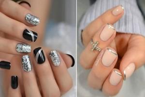 Μοναδικά σχέδια για ασημί νύχια που θα σε κάνουν να ξεχωρίσεις σε κάθε εμφάνιση