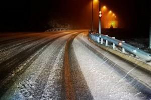 Έπεσαν τα πρώτα χιόνια στην Θεσσαλονίκη!