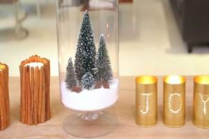 Χριστουγεννιάτικη διακόσμηση με αλάτι και κανέλα!