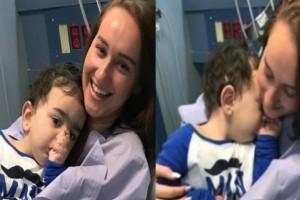 21χρονη ηρωίδα δώρισε το ένα της νεφρό σε αγοράκι 2 ετών και του έσωσε τη ζωή