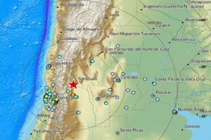 Ισχυρός σεισμός στην Αργεντινή