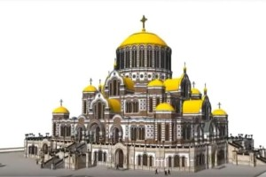 H Ρωσία χτίζει την μεγαλύτερη Ορθόδοξη Εκκλησία στον κόσμο (Video)