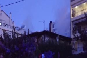 Τραγωδία στη Μεταμόρφωση: Άνδρας βρέθηκε νεκρός μετά από φωτιά που ξέσπασε σε διαμέρισμα