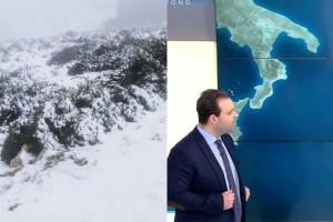 Μετεωρολογική «βόμβα» από τον Κλέαρχο Μαρουσάκη: Χιόνια και στο κέντρο της Αθήνας!