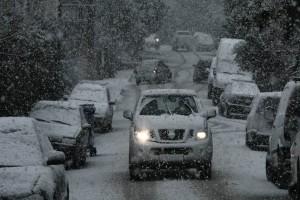 """Κακοκαιρία """"Λέανδρος"""": Το 30% της Ελλάδας καλύφθηκε με χιόνι"""