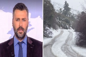 Γιάννης Καλλιάνος: «Θα χιονίσει στην Αττική!» (Video)