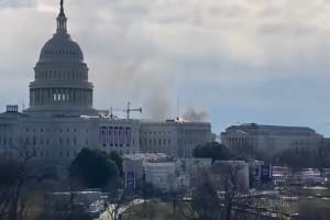 Συναγερμός στην Ουάσιγκτον: Εκκενώνεται το Καπιτώλιο - Βγαίνουν καπνοί από το κτίριο (Video)