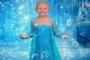 5χρονη με καρκίνο φωτογραφίζεται σαν πριγκίπισσα της Disney και στέλνει μήνυμα δύναμης