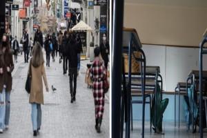 Κορωνοϊός-lockdown: Τα τρία σενάρια για το τι θα ανοίξει τη Δευτέρα (Video)