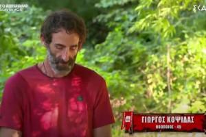 """""""Δεν έπρεπε να πάω στην τελευταία κούρσα"""": Λύγισε ο Γιώργος Κοψιδάς στο Survivor!"""