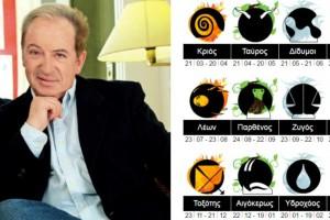 """Ζώδια - Κώστας Λεφάκης: Περίεργη εβδομάδα (11-17/01) - """"Καμπανάκι"""" από τον αστρολόγο"""