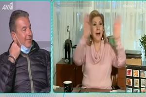 """""""Έσκασε"""" μούρη και πάλι στο """"Πρωινό"""" ο Γιώργος Λιάγκας (video)"""