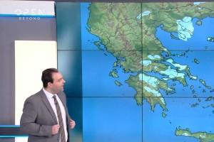 Προειδοποίηση από τον Κλέαρχο Μαρουσάκη: Κι άλλο κύμα κακοκαιρίας με χιόνια στην «καρδιά» της Αθήνας