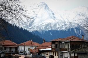 Η φωτογραφία της ημέρας: Στο χιονισμένο Μέτσοβο!