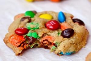 Cookies με m&m τα πιο παιχνιδιάρικα μπισκότα ever!