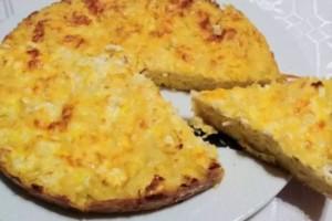 Ομελέτα φούρνου με μακαρόνια