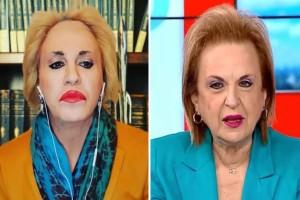 """Συνάντηση κορυφής Τάκη Ζαχαράτου - Ματίνας Παγώνη: """"Κοίτα να φτιάξεις το μαλλί"""""""