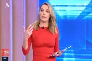 Τατιάνα Στεφανίδου: «Σεισμός» στον Alpha για την παρουσιάστρια