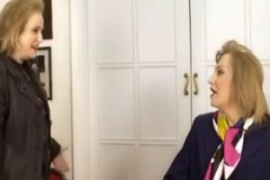Η τετ α τετ συνάντηση της Ματίνας Παγώνη με τον Τάκη Ζαχαράτο - Τι παρατηρήσεις του έκανε; (Video)