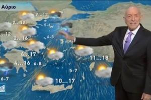 «Χιόνια τα επόμενα 24ωρα» - Προειδοποίηση Τάσου Αρνιακού (Video)