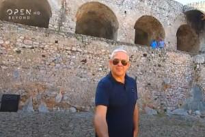 Εικόνες: Ο Τάσος Δούσης μας ξεναγεί στο Ναύπλιο - Μη χάσετε το νέο επεισόδιο!