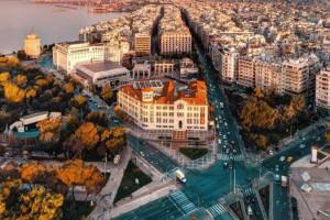 Η φωτογραφία της ημέρας: Κέντρο Θεσσαλονίκης χωρίς αυτοκίνητα