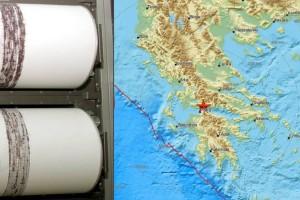 Σεισμός 3,5 Ρίχτερ στη Ναύπακτο