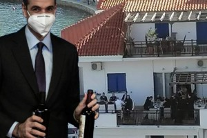 Ο Μητσοτάκης απάντησε για την Ικαρία: «Με αδικεί η εικόνα»