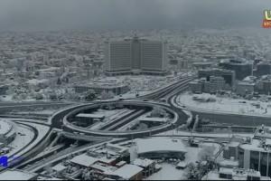 Κακοκαιρία Μήδεια: Το απίστευτο σκηνικό που δημιούργησε στην Αττική από ψηλά (Video)