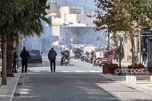 Συναγερμός στο Ηράκλειο: Ένταση και δακρυγόνα στην πορεία για τον Κουφοντίνα