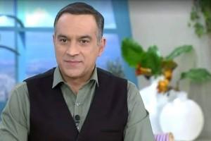 """Κρατερός Κατσούλης: On air ατύχημα για τον παρουσιαστή - """"Πάγωσαν"""" στο πλατό"""
