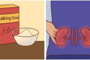 Πώς η μαγειρική σόδα μπορεί να βοηθήσει στη λειτουργία των νεφρών - Θα πάθετε πλάκα!