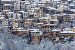 Η φωτογραφία της ημέρας: Στο όμορφο και... χιονισμένο Μέτσοβο!