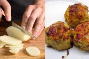 Νηστίσιμα κεφτεδάκια από πατάτες, κολοκυθάκια και καρότα - Γίνονται πιο νόστιμα και από τα κανονικά